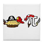 Pi & Pie Pirates Tile Coaster