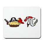 Pi & Pie Pirates Mousepad