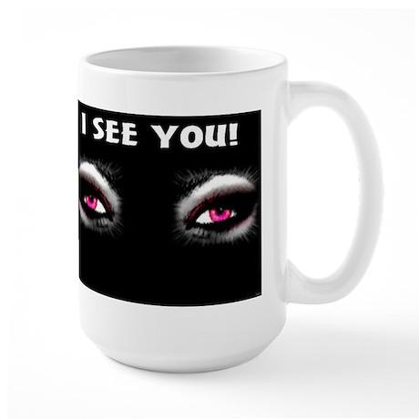 Jmcks I See You Large Mug