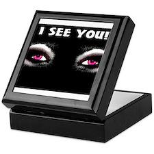 Jmcks I See You Keepsake Box