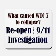 Re-open 9/11 Investigation Mousepad