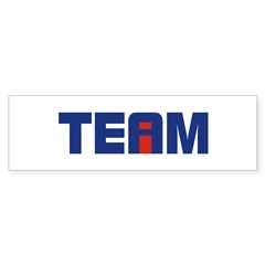 I in Team Sticker (Bumper 10 pk)