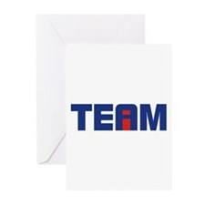 I in Team Greeting Cards (Pk of 20)