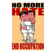 No More Hate Postcards (Package of 8)