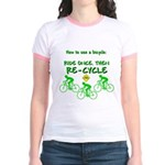 Bicycle Recycle Jr. Ringer T-Shirt