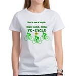 Bicycle Recycle Women's T-Shirt