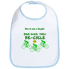Bicycle Recycle Bib
