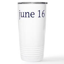 June 16 Travel Mug