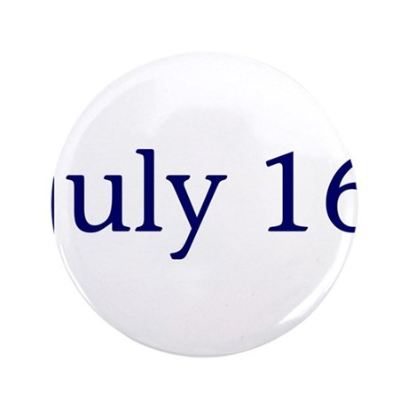 """July 16 3.5"""" Button (100 pack)"""