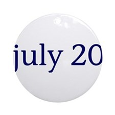 July 20 Ornament (Round)