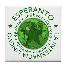 Mondo de Esperanto tegelo