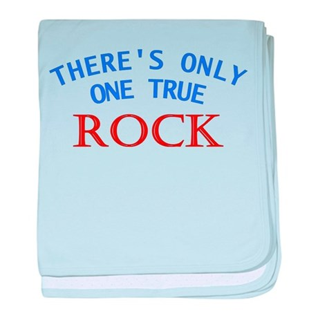 One True Rock baby blanket