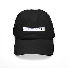 September 16 Baseball Hat