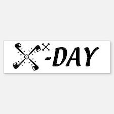 10X-Day Bumper Car Car Sticker