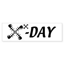 10X-Day Bumper Car Sticker