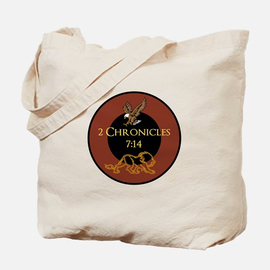 2 Chr 7:14 Lion - Tote Bag