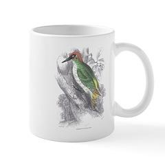 Green Woodpecker Bird Mug
