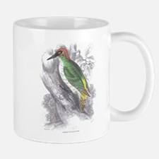 Green Woodpecker Bird Mug