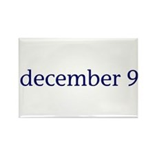December 9 Rectangle Magnet (10 pack)