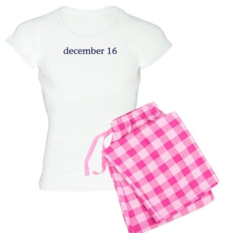 December 16 Women's Light Pajamas