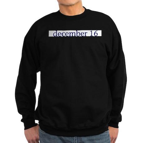 December 16 Sweatshirt (dark)
