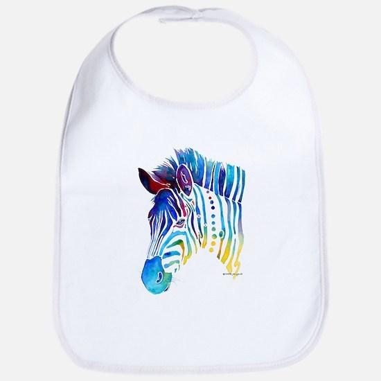 Zebra Stripes Bib
