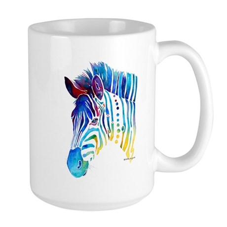 Zebra Stripes Large Mug