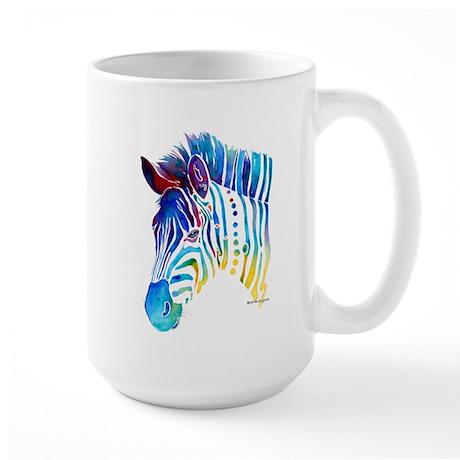 Zebra Stripes Large Mug