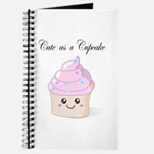 Cute Cupcake Journal