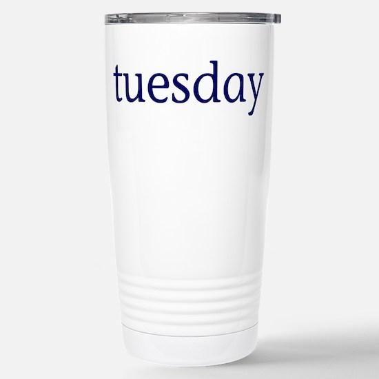 Tuesday Stainless Steel Travel Mug