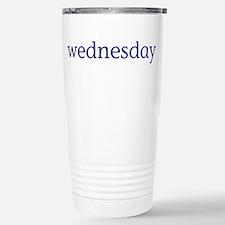 Wednesday Stainless Steel Travel Mug