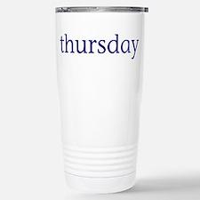 Thursday Stainless Steel Travel Mug