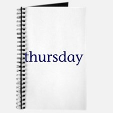Thursday Journal