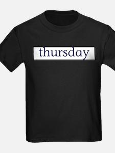 Thursday T