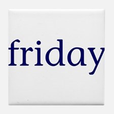 Friday Tile Coaster