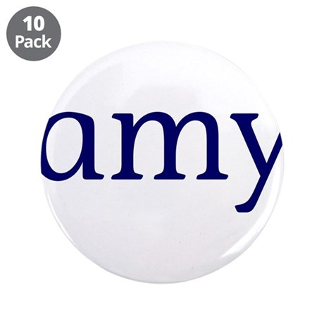 """Amy 3.5"""" Button (10 pack)"""