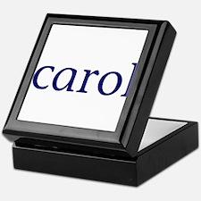 Carol Keepsake Box