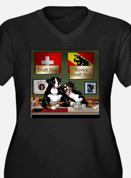 draftdogs_front Plus Size T-Shirt