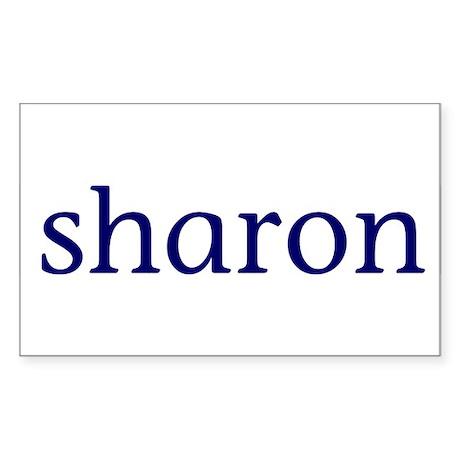 Sharon Sticker (Rectangle 10 pk)