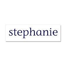 Stephanie Car Magnet 10 x 3