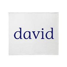 David Throw Blanket