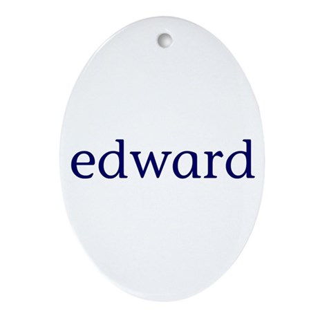 Edward Ornament (Oval)