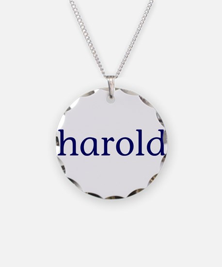 Harold Necklace Circle Charm