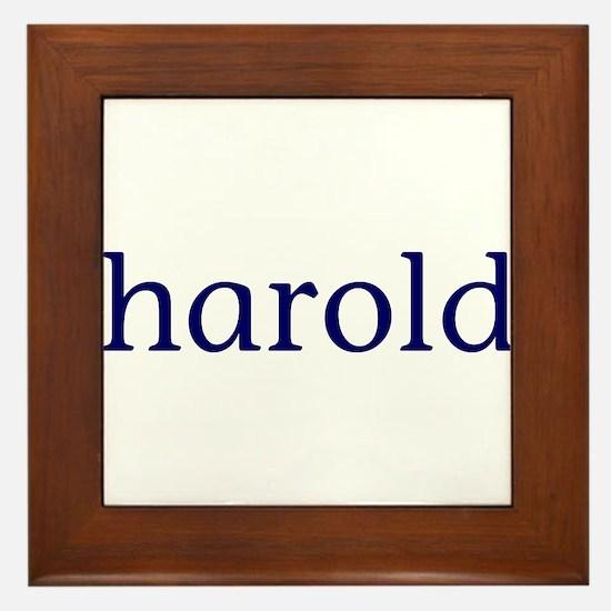Harold Framed Tile
