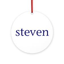 Steven Ornament (Round)