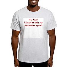 Aw Jeez! Grey T-Shirt