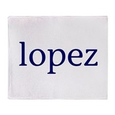 Lopez Throw Blanket