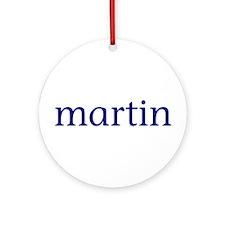 Martin Ornament (Round)