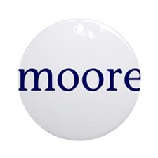 Moore Ornament (Round)