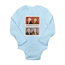 What Would They Do? Long Sleeve Infant Bodysuit